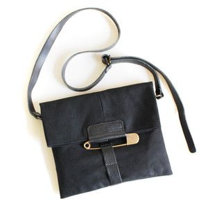 Pony Strap Clutch Black, $112, now featured on Fab.