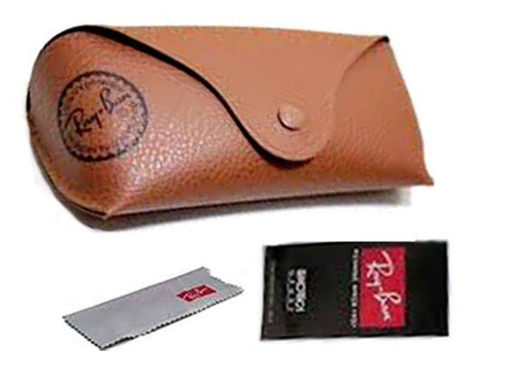 ray ban glass cleaner  ray ban sunglasses brown color + cleaning cloth + box