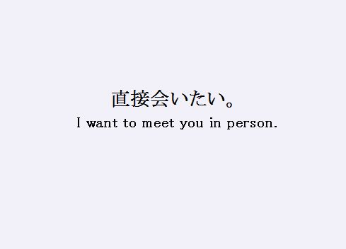 I Want To Meet You Quotes