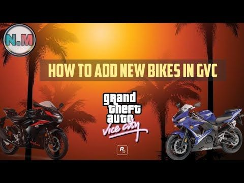 How To Add And Change Bikes In Gta Vice City Youtube In 2020 Ads Gta Vice