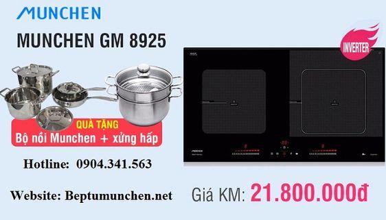 Vì sao bếp từ Munchen GM 8925 lại khiến người dùng phát sốt mặc dù giá bán cao