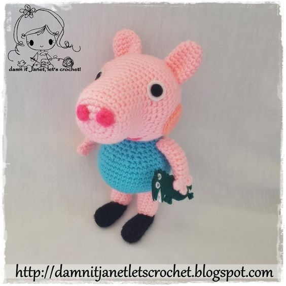 Peppa Pig Family Pattern amigurumi | Peppa pig family, Pig family ... | 564x564