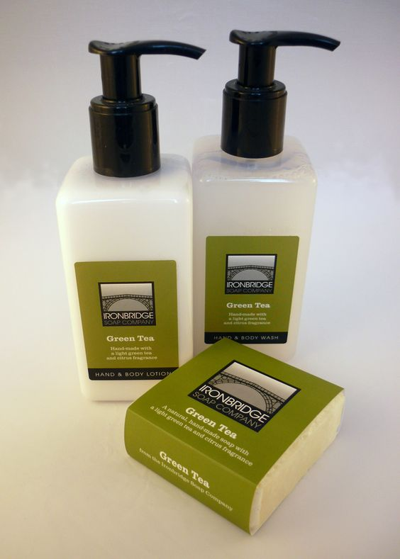 Packaging for the Ironbridge Soap Company