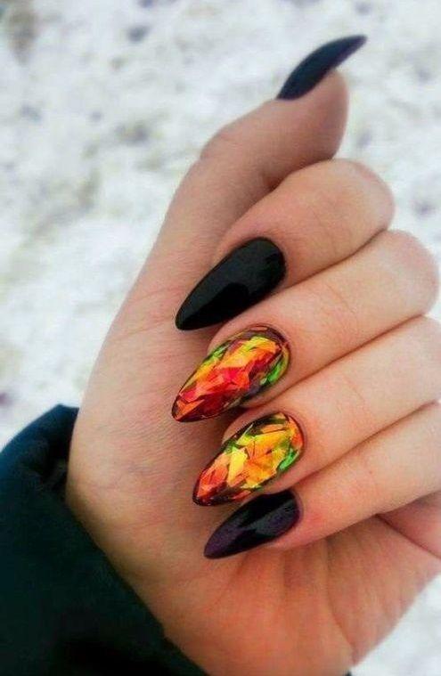 30 Unique Nail Design Ideas 2018