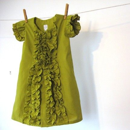 Dress made from Men's shirt