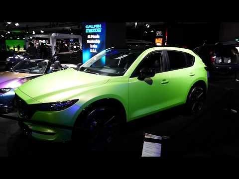 65 Custom 2017 Mazda Cx 5 Suv Galpin Auto Sports Custom Car 2017 La Auto Show Youtube Automotive Suv Repair And Maintenance