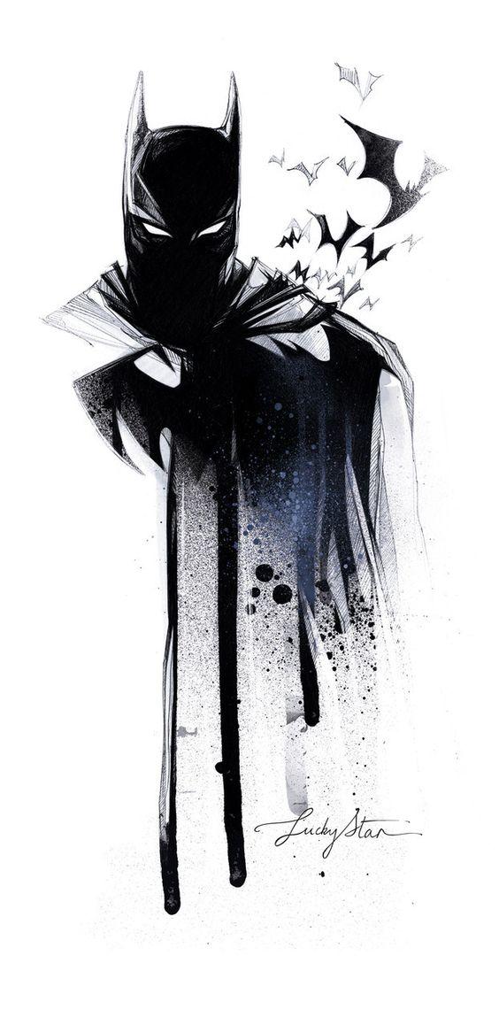 I'm getting bored with the current Batman Comic book story of Commissioner Gordan replacing Batman.  Batman - Galerie de Luckystar