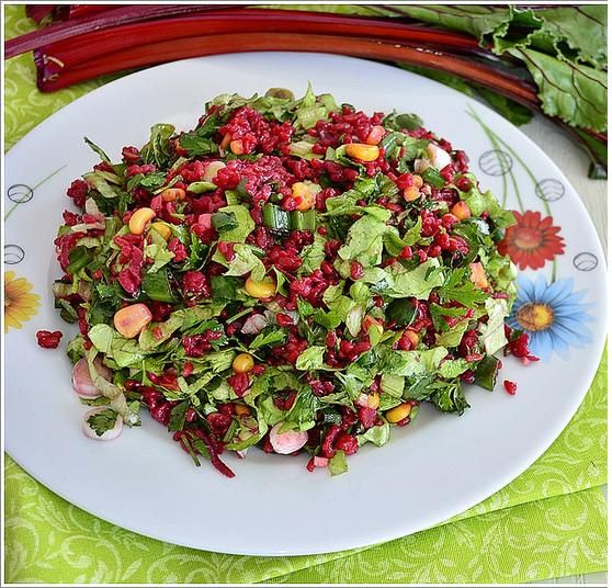 Garnitürlü Pancar Salatası Tarifi Salata Tarifleri Pancar Salatası Tarifleri Pancar Salatası Yemek