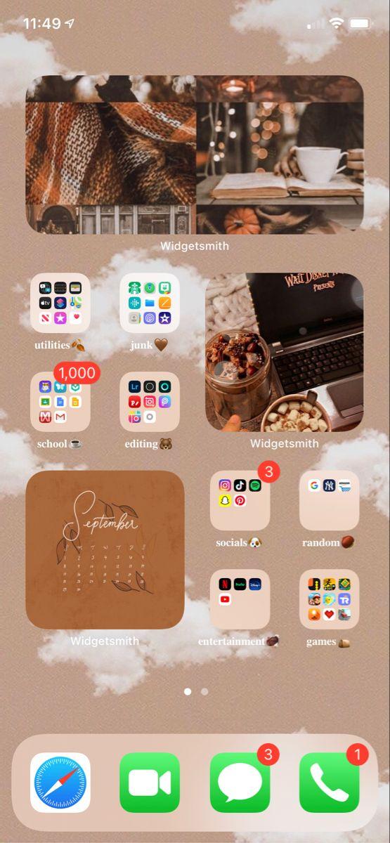Pin On Ios 14 Home Screen