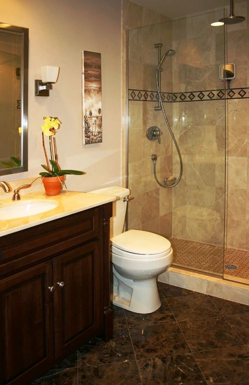 Bathroom Remodel Small Bathroom small bathrooms are less expensive to remodel, compared with a