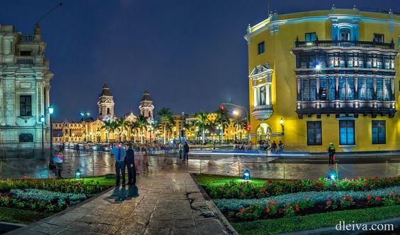 Plaza de Armas de Lima, Peru by Domingo Leiva on 500px