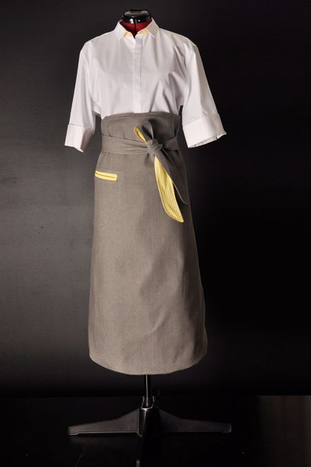 Male french bistro style liberty catering concepts uniform