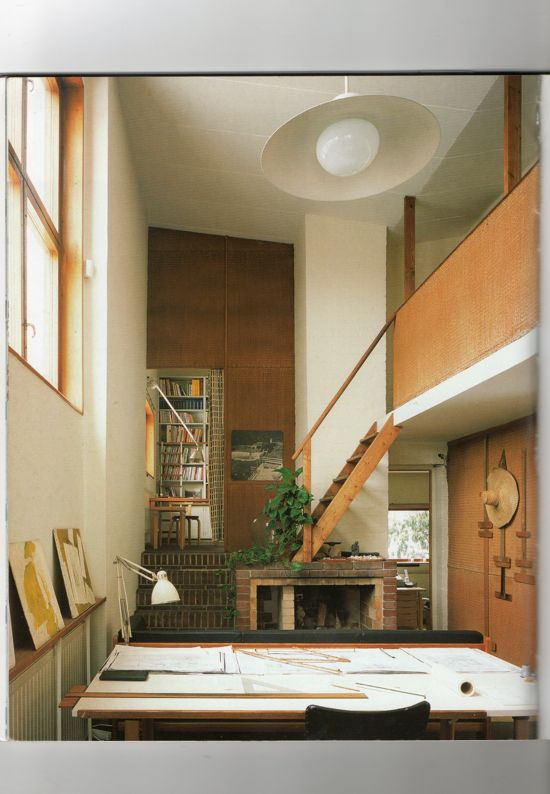 Historia de la Arquitectura Moderna: CASA - ESTUDIO ALVAR AALTO - ALVAR AALTO