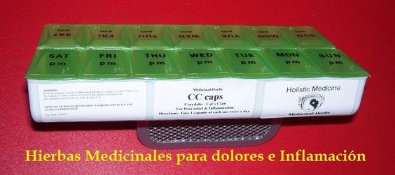 Hierbas Medicinales para dolores e inflamaciones - 1 Semana de Tratamiento #VitaminsBecauseMason