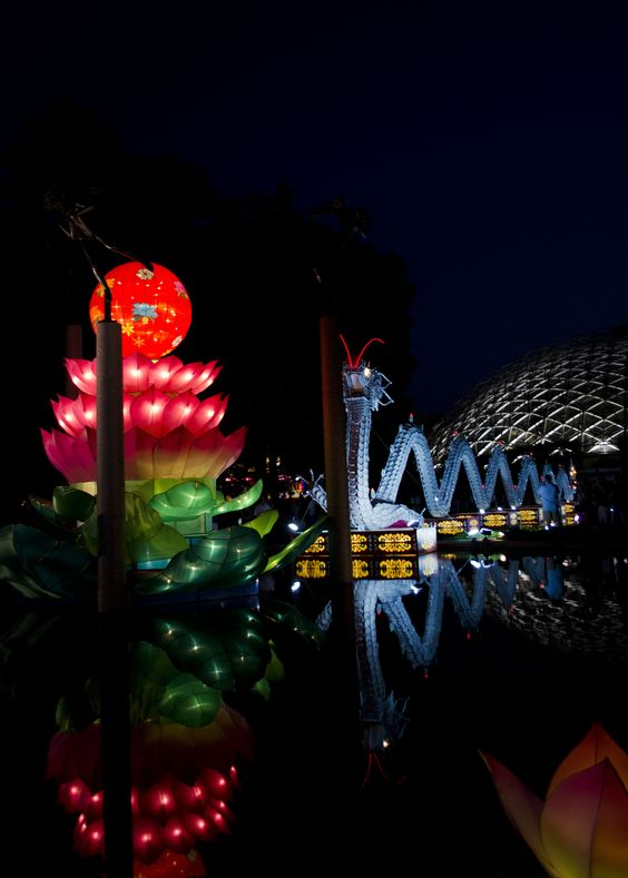 Gardens glow and festivals on pinterest Missouri botanical garden lantern festival