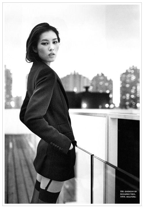 The gorgeous, Liu Wen