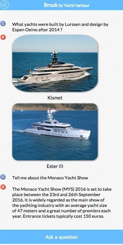"Yacht Harbour introduces ""Siri for yachts"" to smooth buying process #travel"