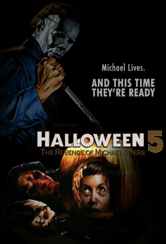 Halloween 5: The Revenge Of Michael Myers Blu-ray Custom Cover ...