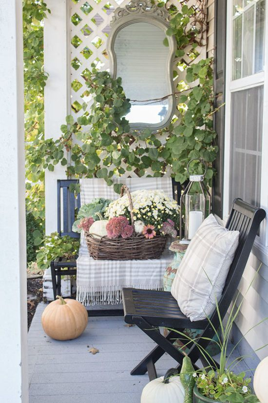 Small Front Porch Ideas For Fall Outdoor Porch Furniture Fall