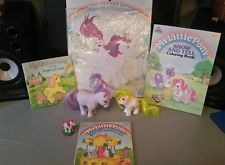 Vintage my little pony MLP lot stamper puzzle coloring book G1 hasbro ponies