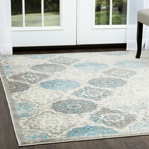 Kallie Quilted Gray Blue Area Rug Home Dynamix Area Rugs Blue Home Decor