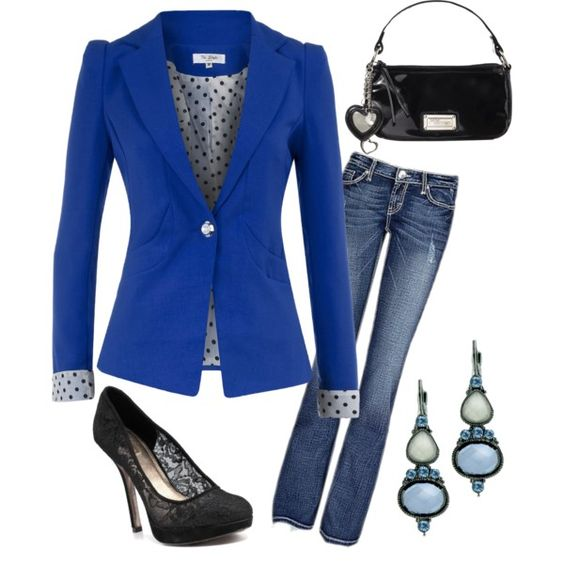 Blue!, created by lealtice on Polyvore