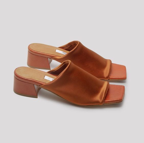 Caterina Brick Lycra Sandals // Miista Shoes // Made in Spain – Miista Europe