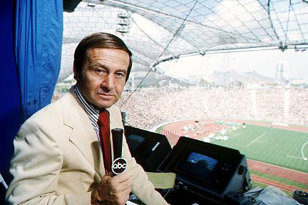 jim mckay was such a terrific guy who always treated me well and made sports more interesting....he covered and everything and did it so well.