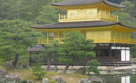 The Golden Pavilion is a must see.