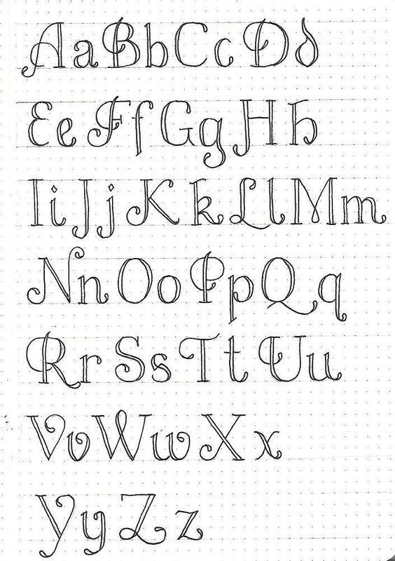 Mastering calligraphy: how to write in roundhand script.