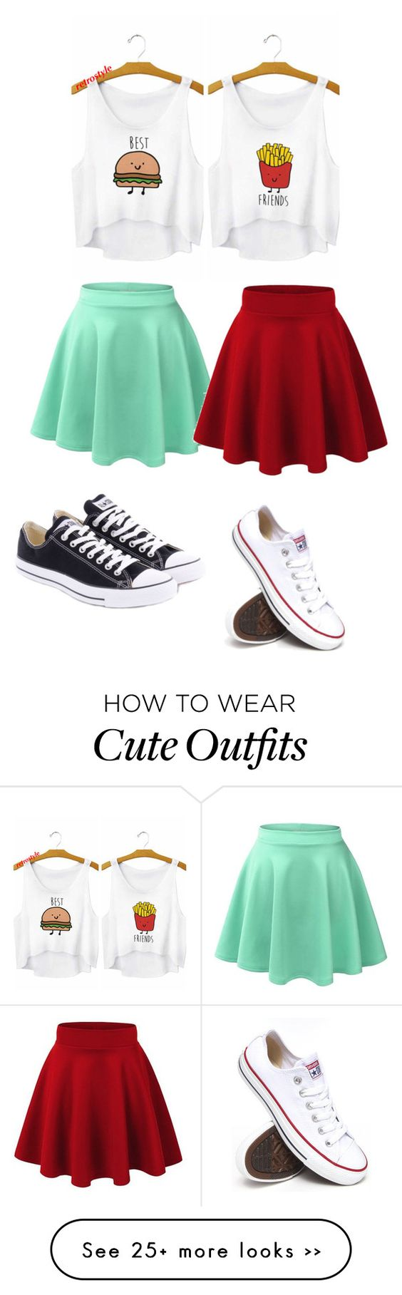 """""""Cute BFF outfit"""" by paigeminshall on Polyvore"""