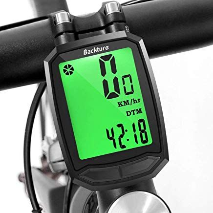 Backture Fahrradcomputer Fahrradtacho Tachometer Fahrrad Kabellos