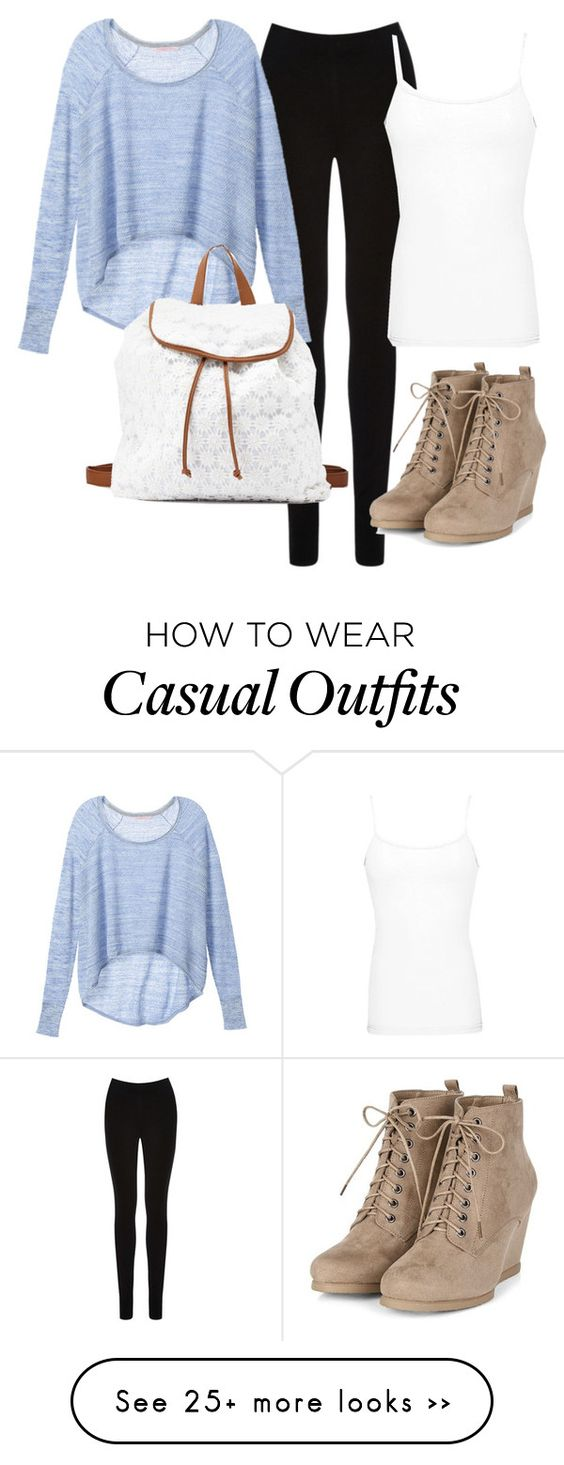 """""""Casual Fall day!"""" by queen-elsa-of-arendelle on Polyvore featuring Oasis, Victoria's Secret, Charlotte Russe and BKE core"""