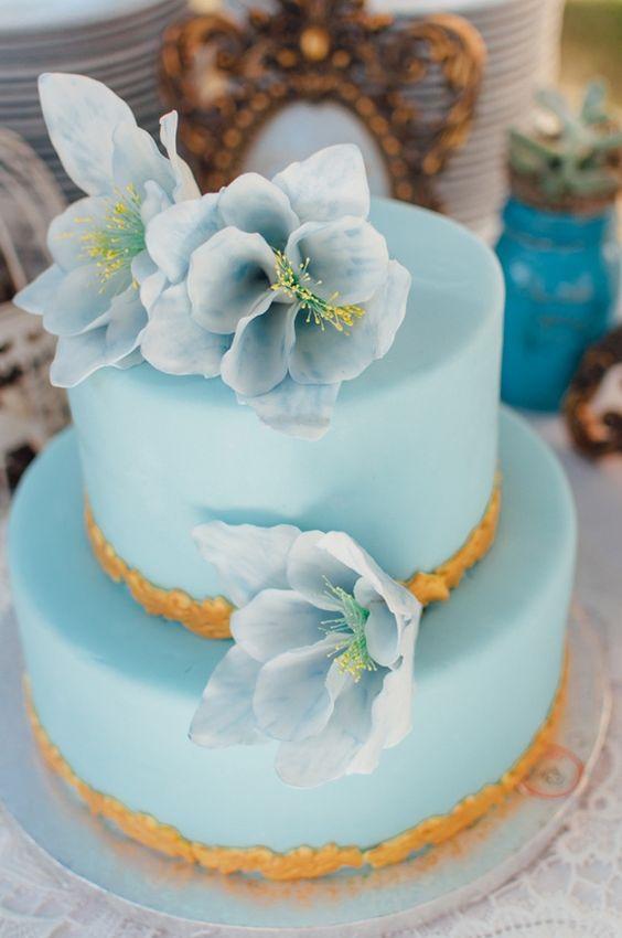Романтичная свадьба в голубых тонах. Обсуждение на LiveInternet - Российский…