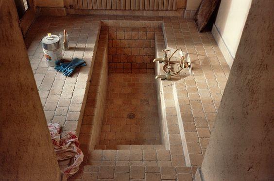 "1999 01 01, Cotignac France, ""La Véronique"", the new bathroom"