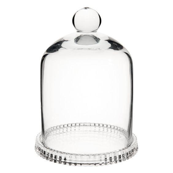 Mini-Glocke aus Glas, H 16 cm