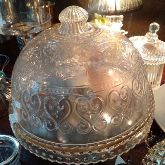 Glascloche in versch. Variationen Shabby Vintage Antik Kitzingen…