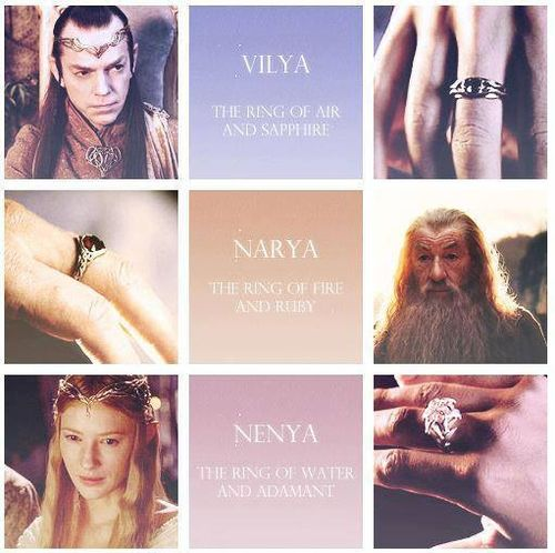 Which Of The Three Elvish Rings Does Gandalf Have