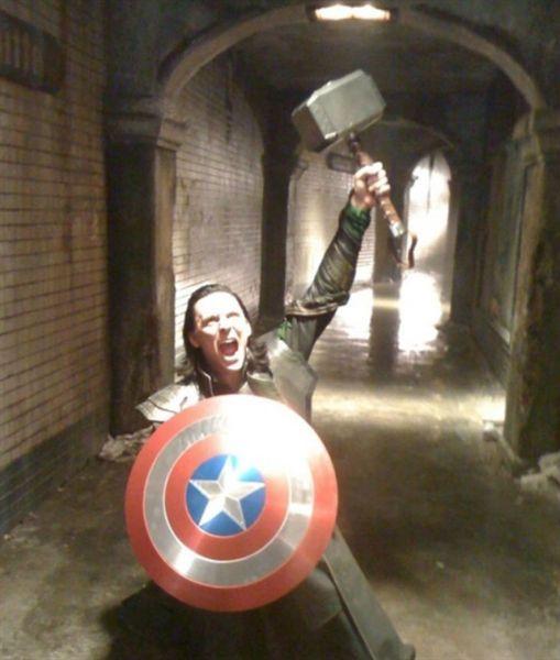 Marvel : 20 photos insolites qui vous dévoilent l'envers du décor - Diaporama - AlloCiné