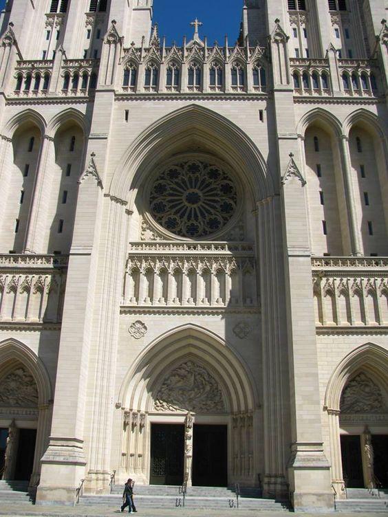 Catedral Nacional de Washington, Washington DC.
