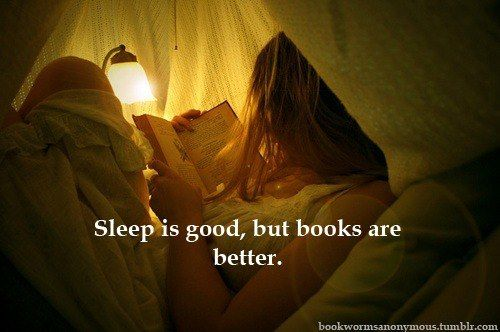 Yes...I've spent many nights reading instead of sleeping.