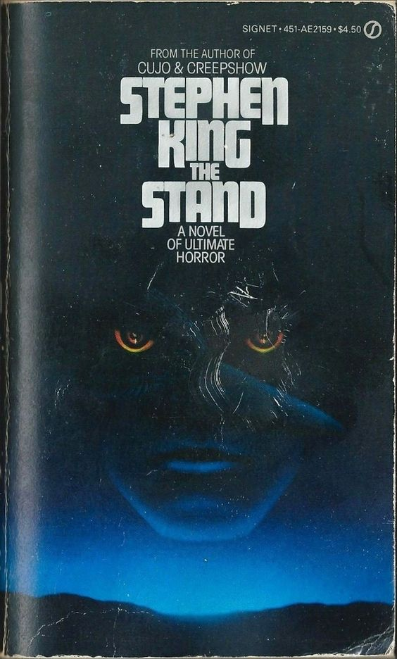 My first Stephen King read when I was 13 or 14.  It is still my favorite out of his impressive bibliography.  I remember carrying my beat up  paperback edition just like this one with me everywhere I went.