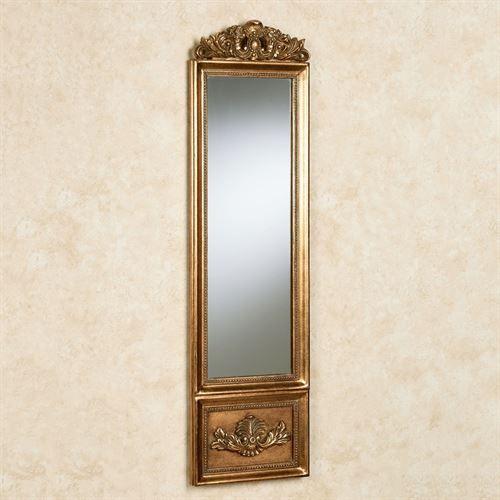 Aura Gold Rectangular Wall Mirror Panel Large Wall Mirror Mirror Wall Framed Mirror Wall