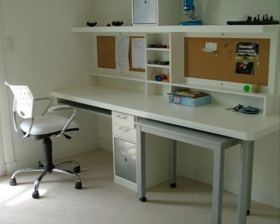 Dormitorio adolescente escritorio . arq penas con estudio lopez  ...