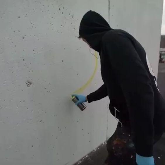 Amazing Nychos's Mural 😍 #nychos  #graffiti #mural #murales #spray #art #sculpture #black #death #design #contemporaryart #modernart #creativity #inspiration #genius #artist #visualart #artwork #illustration #illustrator #designer #drawing #painting #love #streetart #urbanart #street