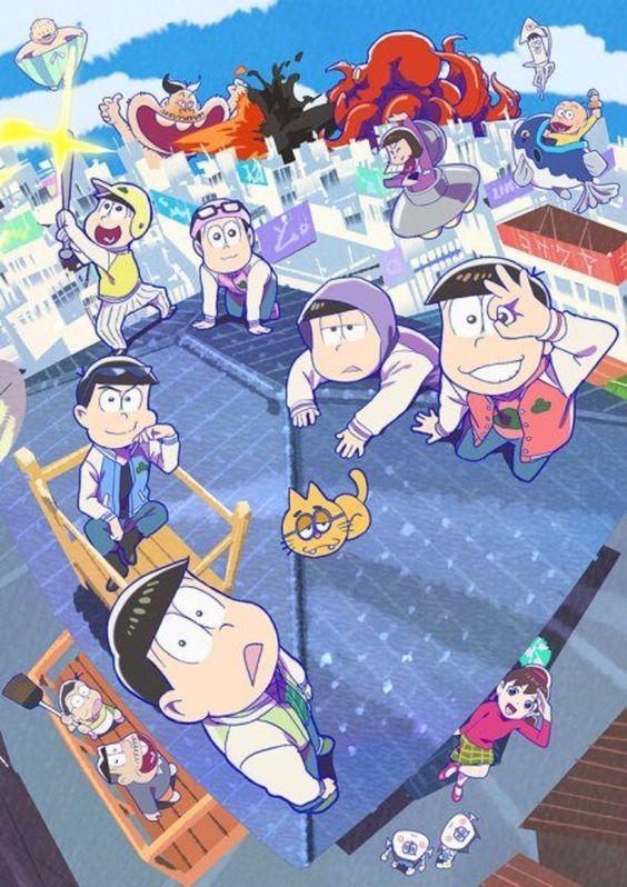 Phần Thứ 3 Của Anime Osomatsu-san Tiết Lộ Công Chiếu Ngày 12 Tháng 10