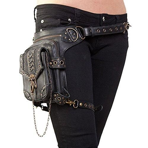 Halloween Unisex Gothic Steampunk Exclusive Retro Rock Shoulder Bag Backpack