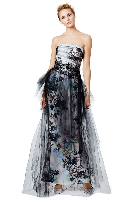 Rent Botanical Dream Gown by Marchesa Notte for $200 only at Rent the Runway.