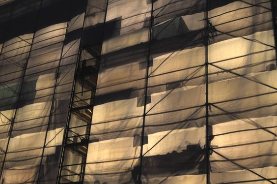"""Saatchi Art Artist: Michael Dube; Digital 2014 Photography """"Wrapped"""". Prints from 70$. #arts #photography #SaatchiArt #prints #city #minimal #architecture #darkness #light"""