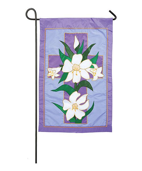 Another great find on #zulily! Purple Easter Morning Garden Flag by Evergreen #zulilyfinds